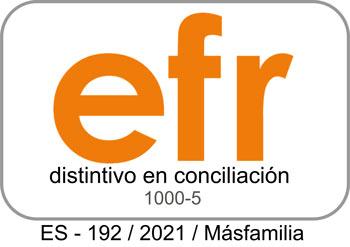 Sello EFR Másfamilia