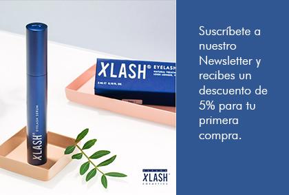 Ya es hora de tener unas super pestañas con Xlash. ¡Consigue tu descuento!