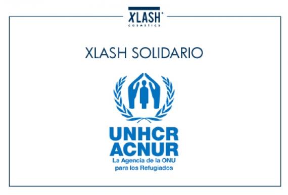 ¡XLASH COSMETICS ESPAÑA CONTINÚA CON SU COMPROMISO SOCIAL!